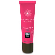 Shiatsu STIMULATION GEL Pomegranate & Nutmeg Интимный гель 30 мл.