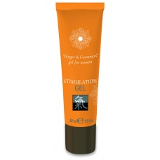 Shiatsu STIMULATION GEL Ginger & Cinnamon Интимный гель 30 мл.